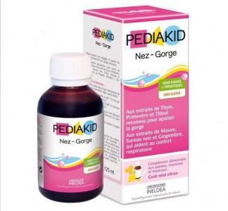 PediaKid Nez-Gorge tăng đề kháng mũi họng cho bé của Pháp
