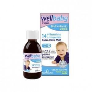 Wellbaby - Vitamin Tổng Hợp Cho Bé Chính Hãng Của Anh
