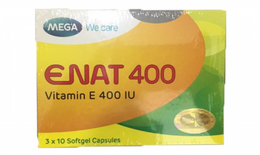 [Review] Cách uống Vitamin E Enat 400 hiệu quả nhất