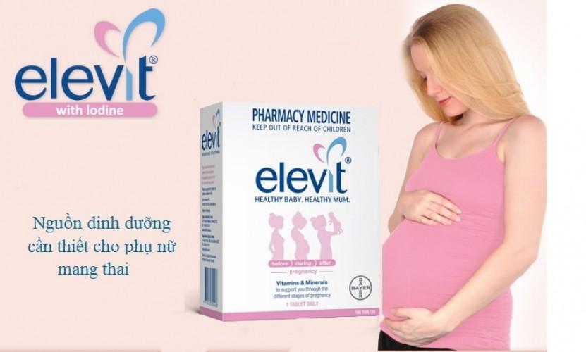 Viên uống Elevit có tốt không review từ mẹ bầu đã sử dụng