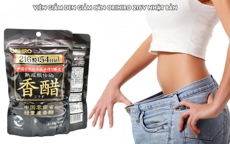Viên uống giấm đen giảm cân Nhật Orihiro Webtretho có hiệu quả không?