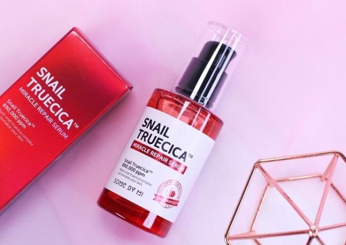 Review tinh chất dưỡng Some By Mi Snail Truecica Miracle Repair Serum