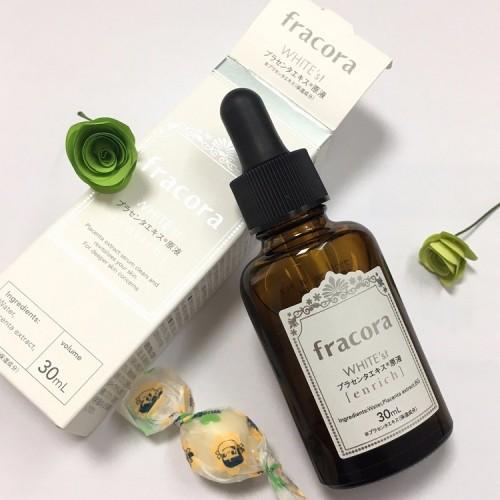 [Đánh giá] Serum Fracora White Enrich có tốt không