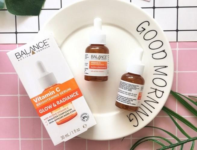 Review Serum Balance Vitamin C có tốt không