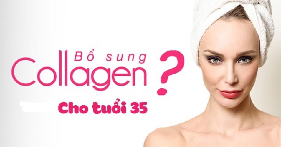 Bổ sung collagen cho phụ nữ tuổi 35 ngừa lão hóa, đẹp da
