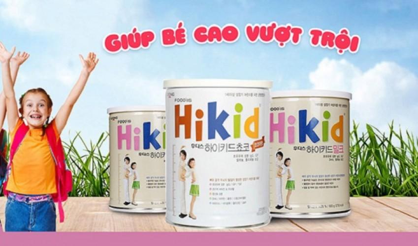 [Review] Sữa Hikid có tốt không? Cách pha sữa Hikid