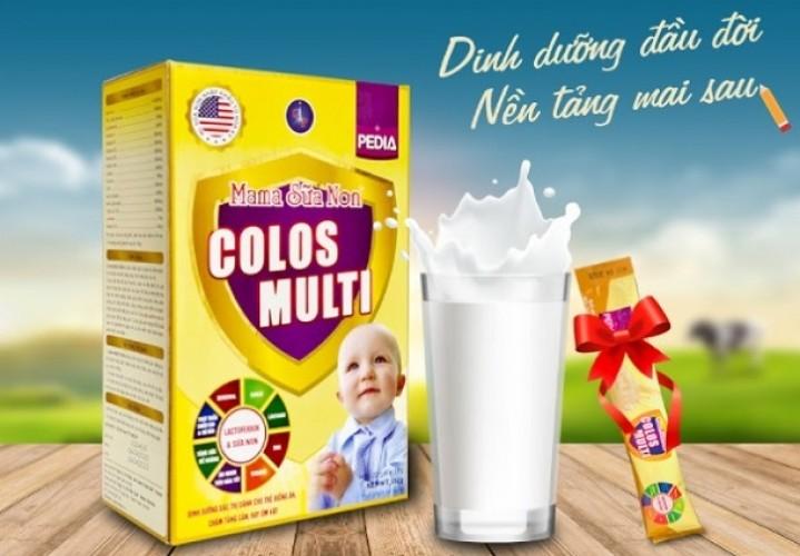 [Review] Mama sữa non Colos Multi giá bao nhiêu? Mua ở đâu chính hãng?