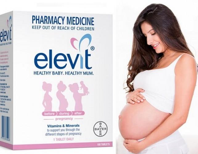 Thuốc uống Elevit cho bà bầu nên uống khi nào tốt nhất?