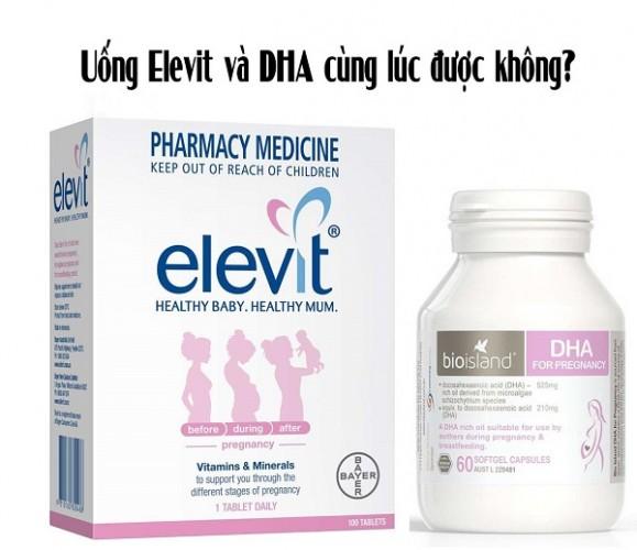 [GỢI Ý] Cách uống Elevit và DHA như thế nào tốt cho mẹ bầu?