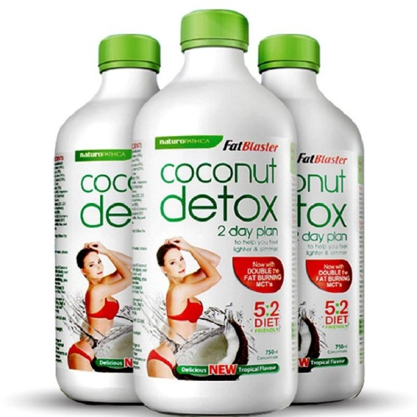 Nước Uống Detox Coconut Của Úc - Hỗ Trợ Cải Thiện Cân Nặng