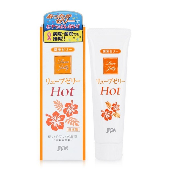 Gel Bôi Trơn Jex Luve Jelly Hot Của Nhật Hỗ Trợ Sinh Lý