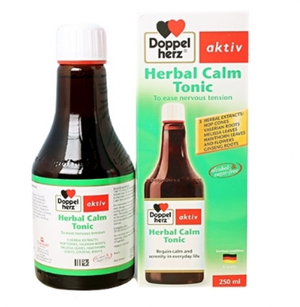 Herbal Calm Tonic Doppelherz - Tăng Cường Sức Khỏe Tim Mạch