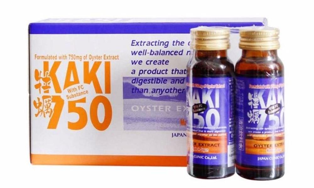 Oyster Extract Kaki 750 Hỗ Trợ Sinh Lý Nam Giới