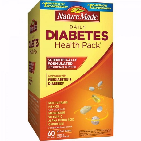 Viên Uống Diabetes Health Pack