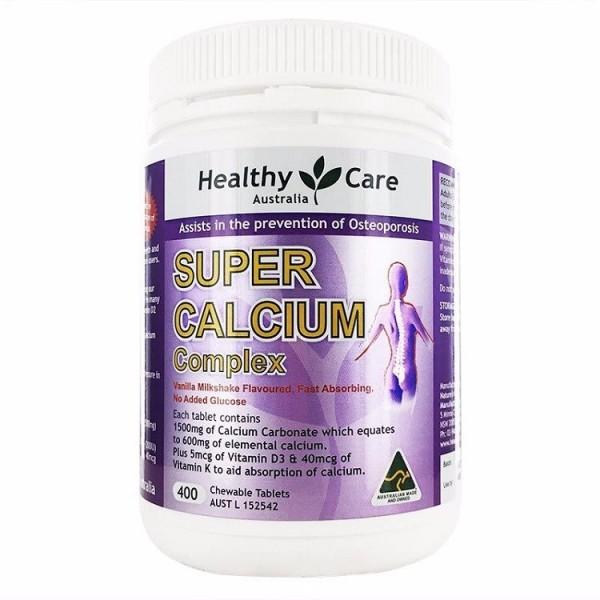 Super Calcium Complex Health Care 400 Viên Của Úc