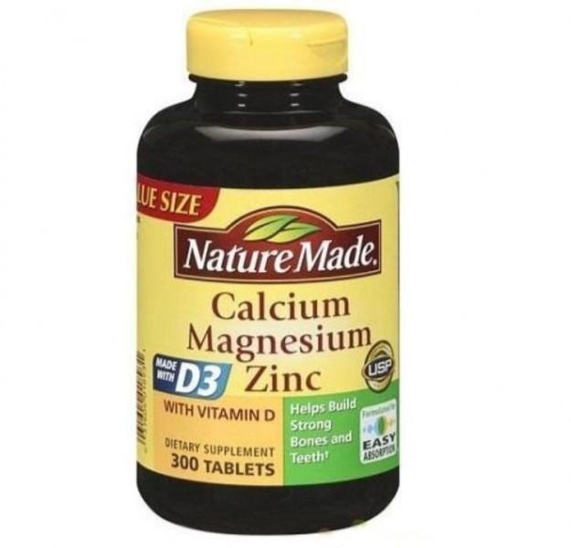 Viên Uống Nature Made Calcium Magnesium Zinc D3