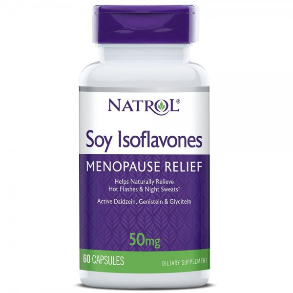 Viên Uống Natrol Soy Isoflavones