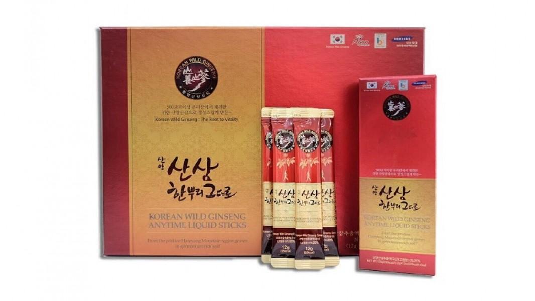 Tinh Chất Sâm Núi Korean Wild Red Ginseng Anytime Liquid