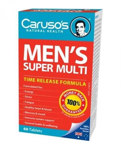 Vitamin Tổng Hợp Cho Nam Caruso's Men's Super Multi
