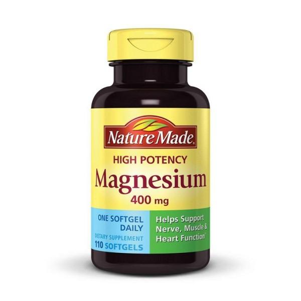 Viên Uống Magnesium Nature Made 400mg