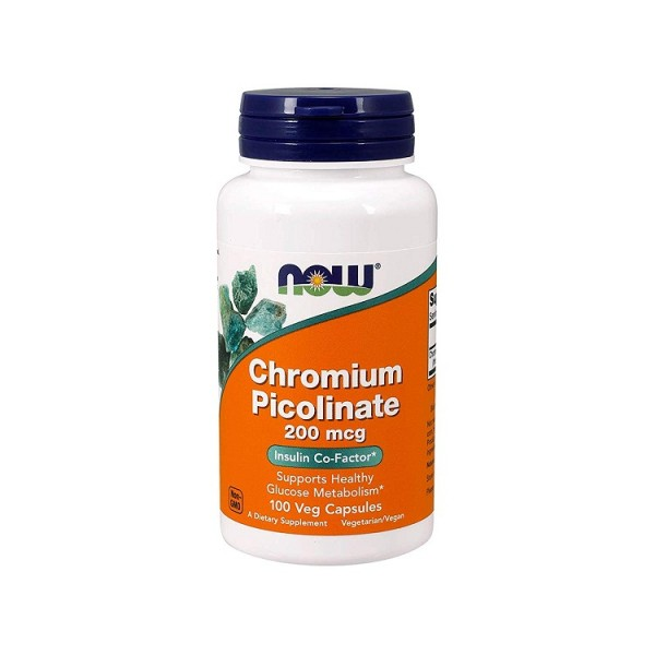 Viên Uống Now Chromium Picolinate 200mcg