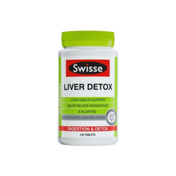 Viên Uống Thải Độc Gan Swisse Liver Detox