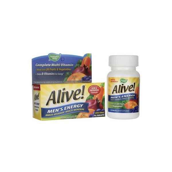 Vitamin Tổng Hợp Cho Nam Alive Men's Energy Vitamins