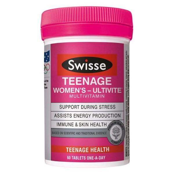 Vitamin Cho Bé Gái Tuổi Dậy Thì Swisse Teenage Women
