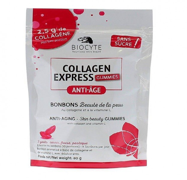 Kẹo Dẻo Biocyte Collagen Express Gummies
