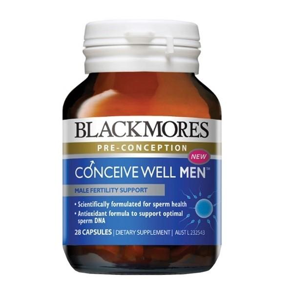 Viên Uống Blackmores Conceive Well Men Tăng Cường Sinh Lý