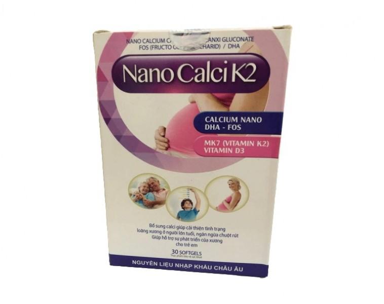 Viên Uống Bổ Sung Nano Calci K2