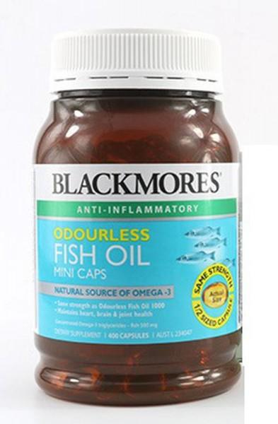 Dầu Cá Blackmores Odourless Fish Oil Không Mùi
