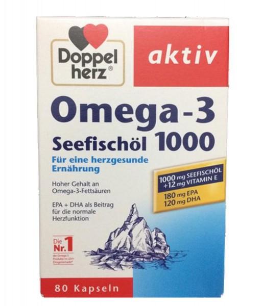 Dầu Cá Omega 3 Doppelherz Seefischol Của Đức
