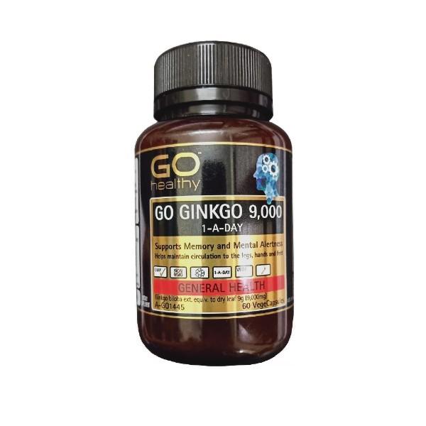 Viên Uống Go Healthy Go Ginkgo Hỗ Trợ Cải Thiện Trí Nhớ