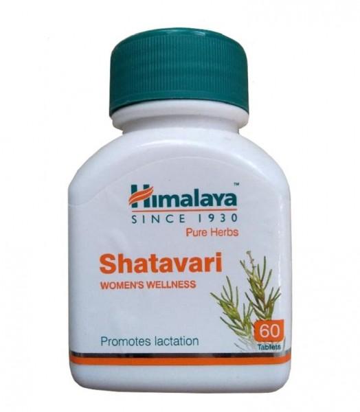 Viên Uống Himalaya Shatavari Lợi Sữa, Điều Hòa Nội Tiết Tố Nữ