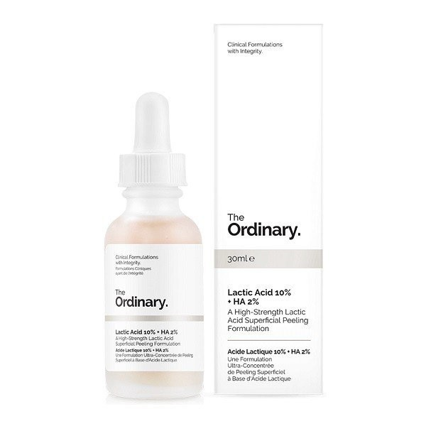 Serum The Ordinary Lactic Acid 10% +HA 2% 30ml