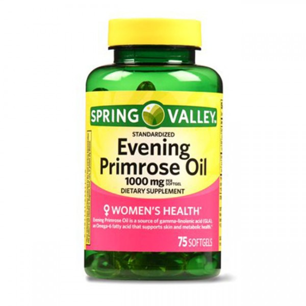 Tinh Dầu Hoa Anh Thảo Spring Valley Evening Primrose Oil