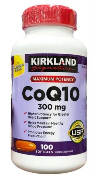Viên Uống Kirkland CoQ10 300mg Hỗ Trợ Tim Mạch