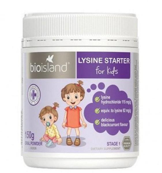 Bột Bio Island Lysine Starter Hỗ Trợ Tăng Chiều Cao