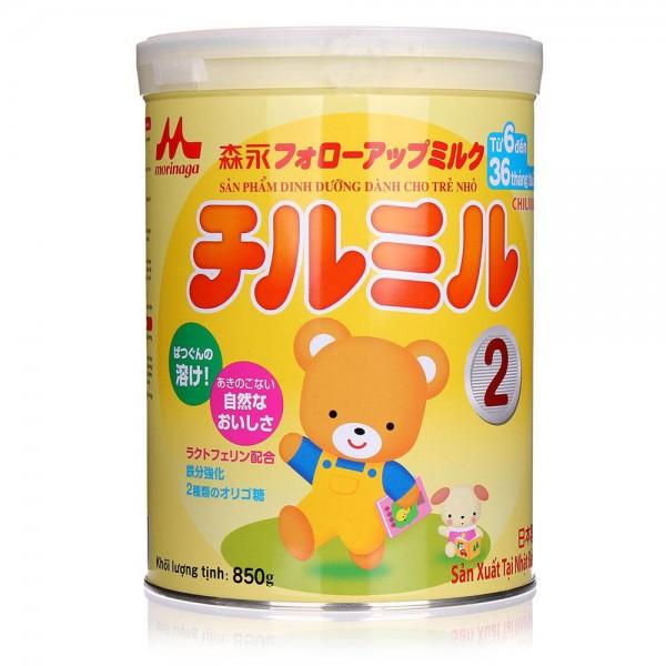 Sữa Morinaga Số 2 Hộp 850g (Cho Trẻ 6 - 36 Tháng Tuổi)