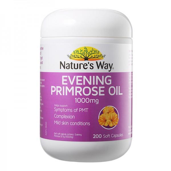 Tinh Dầu Hoa Anh Thảo Nature's Way Evening Primrose Oil 1000mg