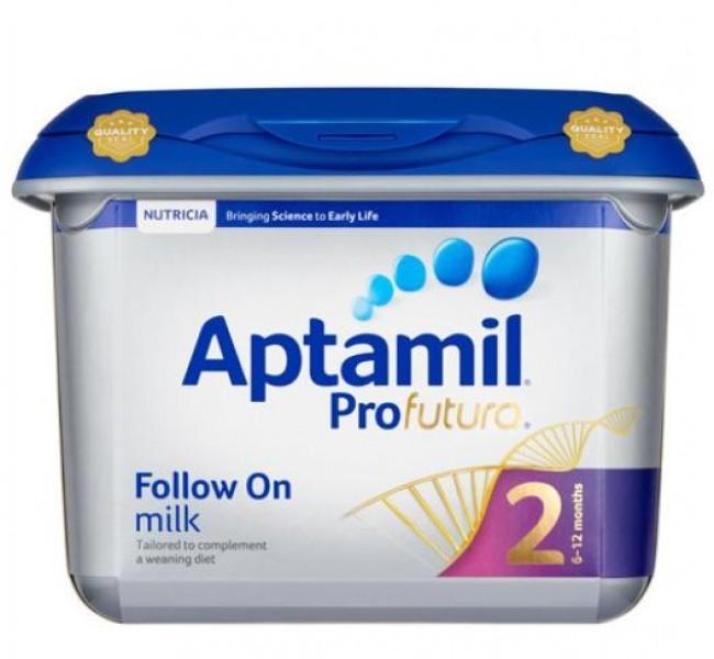 Sữa Aptamil Số 2 Của Anh Cho Trẻ 6-12 Tháng Tuổi