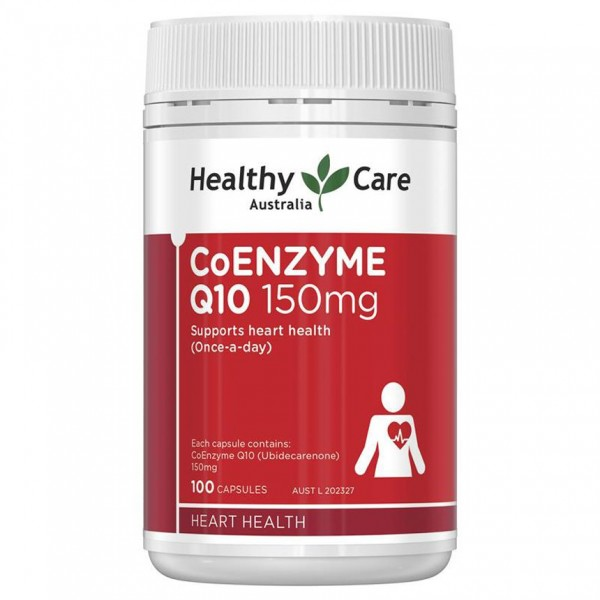 Viên Uống Coenzyme Q10 150mg Healthy Care