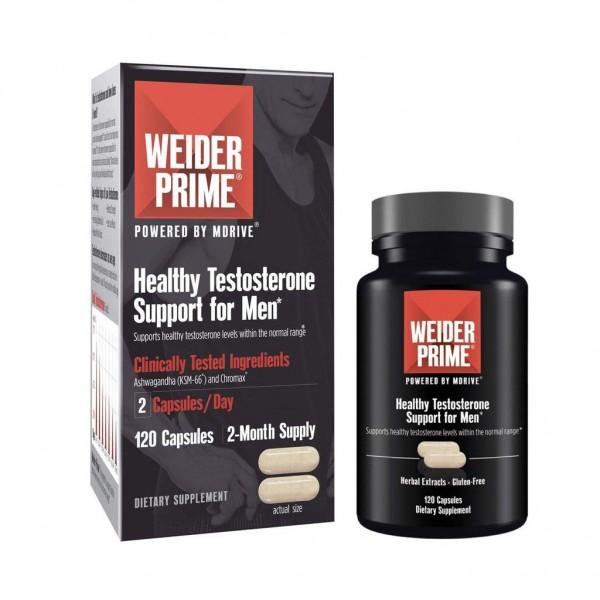 Viên Uống Weider Prime Testos Hỗ Trợ Tăng Cường Sinh Lực