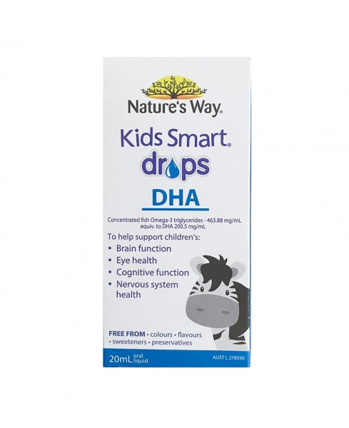 DHA Dạng Giọt - Nature's Way Kids Smart DHA Drops Của Úc