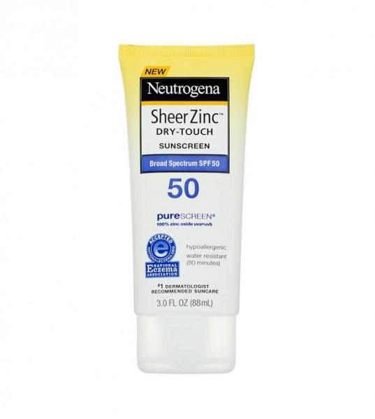 Kem Chống NắngNeutrogena Sheer Zinc Dry-Touch Face Sunscreen SPF 50