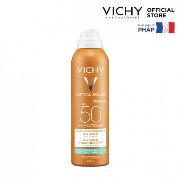 Kem Chống Nắng Toàn Thân Dạng Xịt Vichy 200ml