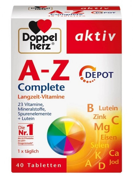 Vitamin Tổng Hợp Của Đức Doppelherz Aktiv A-Z 40 Viên