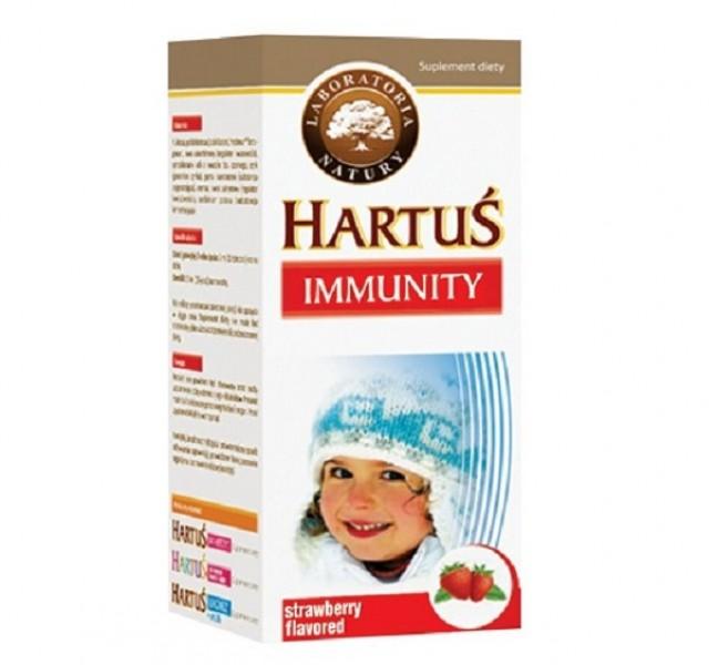 Hartus Immunity - Hỗ Trợ Tăng Cường Sức Khỏe Cho Trẻ Từ 4 Tháng Tuổi, 150ml