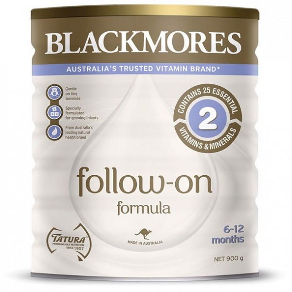 Sữa Blackmores Số 2 Cho Bé Từ 6-12 Tháng Tuổi